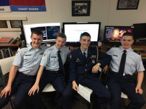 BGHS cadets competing in the StellarXplorers competition