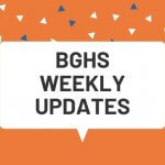 Weekly Updates for BGHS